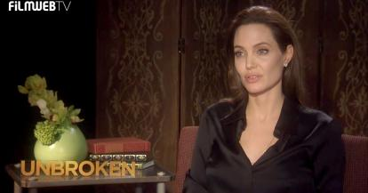 Angelina Jolie talks about her past, her family life and Unbroken