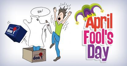 April Fool's Day (El día de los tontos de abril) o Día de los Inocentes