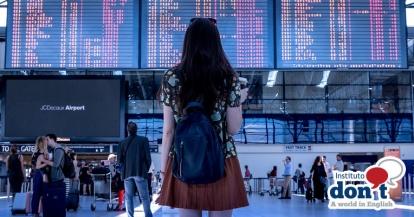 aeropuerto, airport, departures, holidays