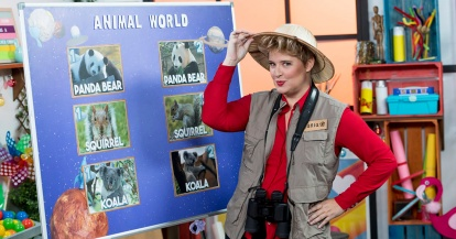 Real Mom en Boing, un programa infantil para aprender inglés de la mano de Tania Llasera