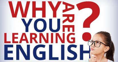 Why are you learning English?