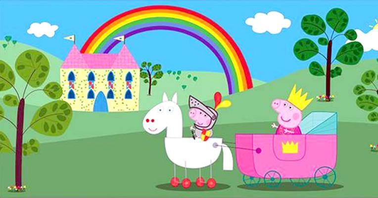 Peppa Pig - The Rainbow